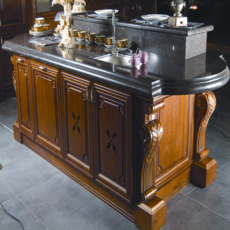 Welbom Cherry Wood Kitchen Cabinet
