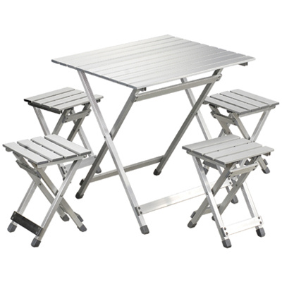 Aluminum Bar Folding Camping Table