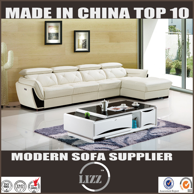 High Quality Europe Modern Home Furniture Leather Sofa