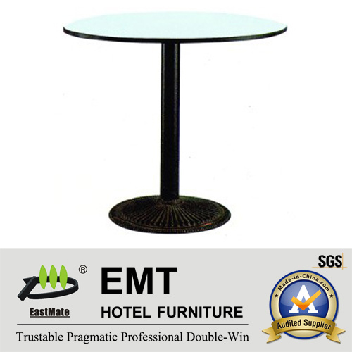 Simple Design Restaurant Rounded Dining Table (EMT-R32)