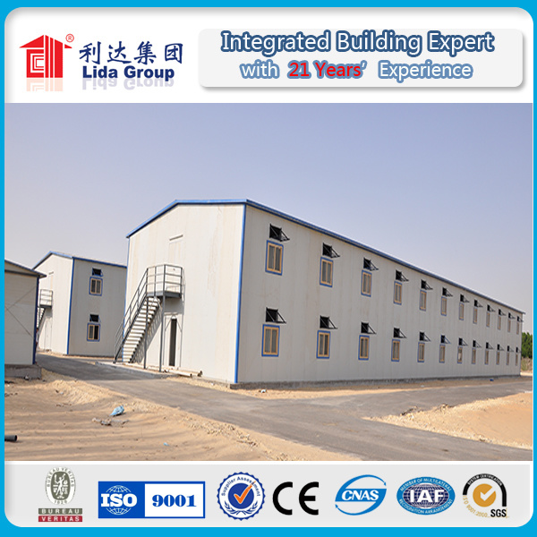 Kuwait Double Prefabricated Floor Worker Dormitory