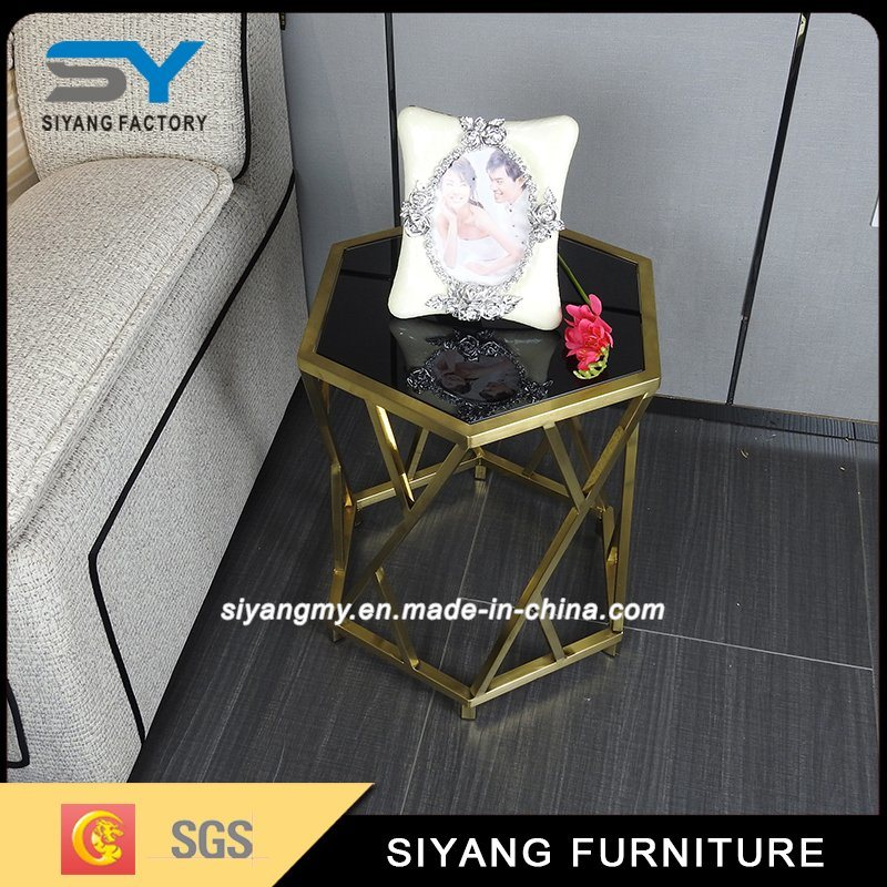 Reproduction Chinese Furniture Stainless Steel Side Table