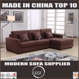Modern Style Comfortable Fabric Wooden Sofa for Living Room