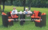 Outdoor Rattan Wick Chair and Table (BP-253)