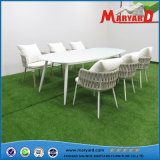 Outdoor Rope Dining Set for Garden