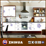High Glossy Kitchen Cabinet From Flower UV MDF (ZHIHUA)