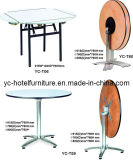 Round and Square Cocktail Table for Restaurant (YC-T59)