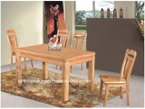Dining Room Solid Wood Furniture Rubber Wood Dining Table
