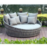 Outdoor Beach Rope Woven Daybed