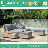 Combination Sofa Garden Sofa Modern Sofa Outdoor Sofa Rattan Furniture Wicker Furniture Patio Sofa Leisure Lounge Hotel Project Daybed (Magic Style)