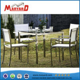 American Style Tempered Glass Top Garden Table Set
