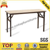 Foldable Plywood Top Hotel Banquet Dining Table