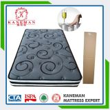 Bamboo Charcoal Two Side Pocket Spring Mattress with Elegant Cover