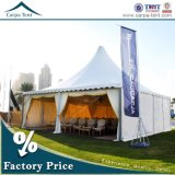 Large Wedding Decorated Marquee Pagodas 10mx10m with Banquet Chairs and Tables for Catering