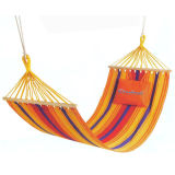 Multicolor Hammock with Free Pillow