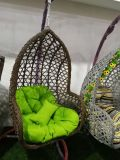 Cheap Price Outdoor Garden Rattan Hanging Egg Swing Chair
