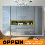 Oppein Modern Glossy Lacquer Hinged Wardrobe (YG16-L02)