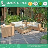 Rattan Sofa Set with Cushion 3-Seater Outdoor Sofa (Magic Style)