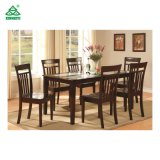 American Countryside Style Good Quality Solid Wood Dining Table with Chairs