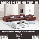 High Quality Good Sale Italian Design L Shape Corner Leather Sofa