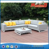 Garden Aluminium Fabric Sectional Sofa Outdoor Furniture