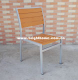 Outdoor Chair Aluminium Plastic Wood