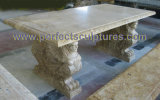 Garden Stone Marble Table Chair for Garden Furniture (QTB048)