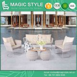 Iris Sofa Set Garden Furniture Patio Furniture New Design Wicker Sofa Stainless Steel (MAGIC STYLE)