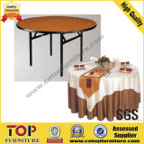 Round Dining Plywood Folding Banquet Table