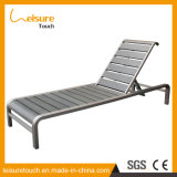 Outdoor Garden Patio Furniture Gradient Adjustable Aluminum Lying Bed Sun Beach Lounge Reclining Deck Chair