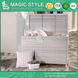 Master Cushion Box Wicker Cushion Box Rattan Chest Outdoor Storage (Magic Style)