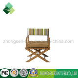 Hotel Solid Wood Furniture Manufacturers/Maker Custom Made Outdoor Leiture Chair Make of Teak and Fabric