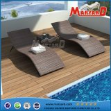 High Quality Antique Design PE Rattan Bali Furniture Outdoor Sofa Lounger