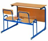 Rectangular Classroom Table with Student Chairs, Sturdy Student Desk