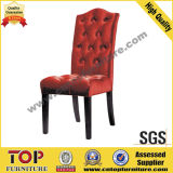 Hotel Wooden Fabric Leisure Dining Chairs
