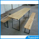 Outdoor Furniture Solid Wood Portable Table