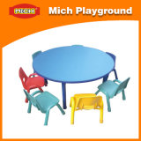 Mich Plastic Round Children Study Table (1211E)