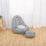 Indoor Inflatable PVC Air Lazy Sofa with Cartoon