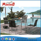 Netting Style Weaving Chair Dining Table Set