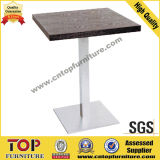 Durable Square Stainless Steel Restaurant Coffee Cocktail Tables