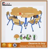 Kindergarten Furniture Children School Desk and Chair (SF-24K)