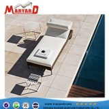 Nice Design Outdoor Synthetic Rattan Lounge and Rattan Lounger Bed for swimming Pool