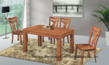 Hot Sale Solid Wood Dining Furniture Table and Chair