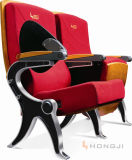 Special Aluminum Alloy Frame Hall Seat Seating, Fabric PU Leather Auditorium Chair