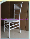 Monobloc One Piece White Resin Chiavari Chair