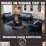 Chesterfield Classic Hotel Furniture Uphostered Leather Sofa
