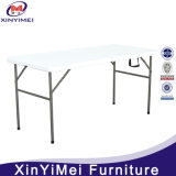 Outdoor Foldable HDPE Material Table Top Square Metal Folding Table