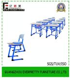 High Quality Cheap Plastic Table and Chair /Student Single Desk and Chair