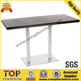 Rectangular Stainless Steel Coffee Dining Table