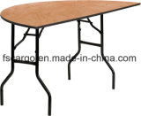 60'' Half-Round Wood Folding Banquet Table (CGT1623)